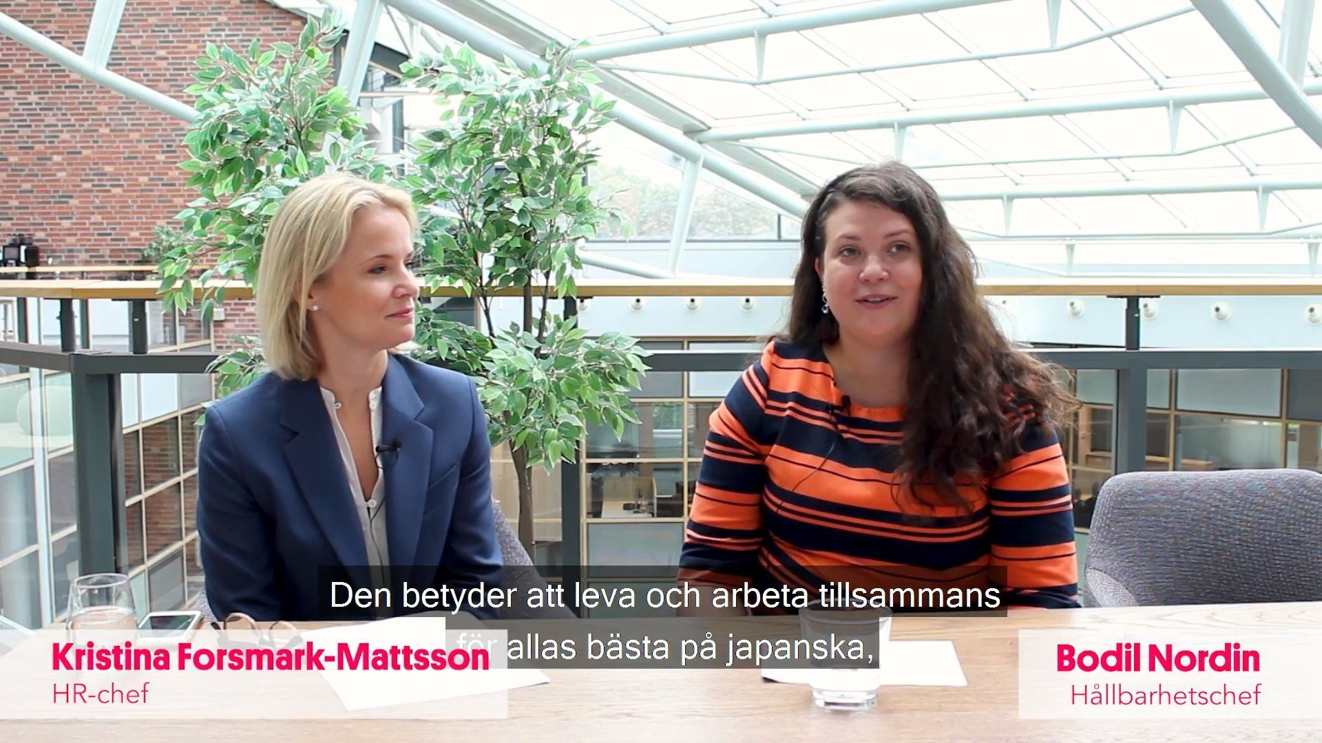 My dream now intervju med Canons HR-chef och hållbarhetschef